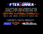 Amiga Game - Afterburner (screenshot 1)