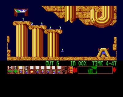 Download 'Lemmings' Amiga ROM Game
