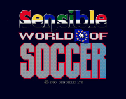 Amiga Game - Sensible World of Soccer (screenshot 1)