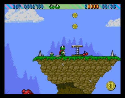 Download 'Superfrog' Amiga ROM Game