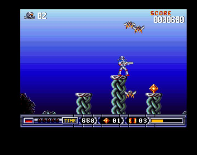 Download 'Turrican 2' Amiga ROM Game