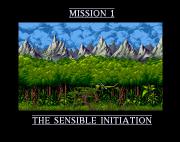 Amiga Game - Cannon Fodder (screenshot 1)