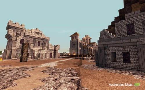 Medieval / Fantasia Mapa para Minecraft - 1