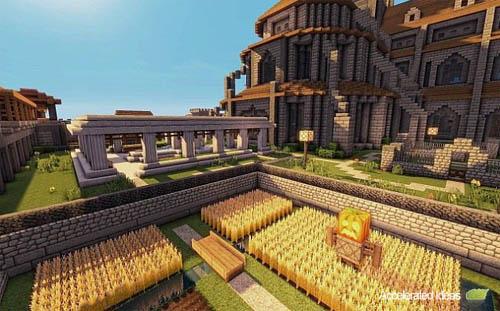 Medieval / Fantasia Mapa para Minecraft - 2