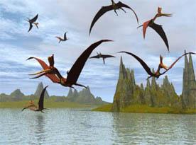 Dinossauros que voam