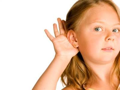 Testes de audição e visão para crianças