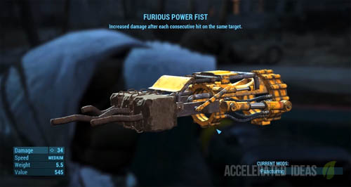 Furious Power Fist