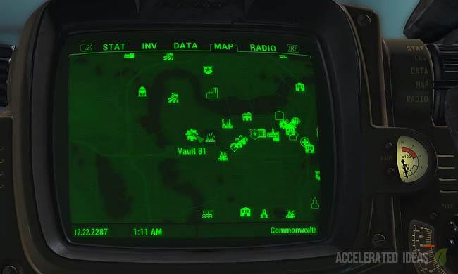 Vault 81 map location