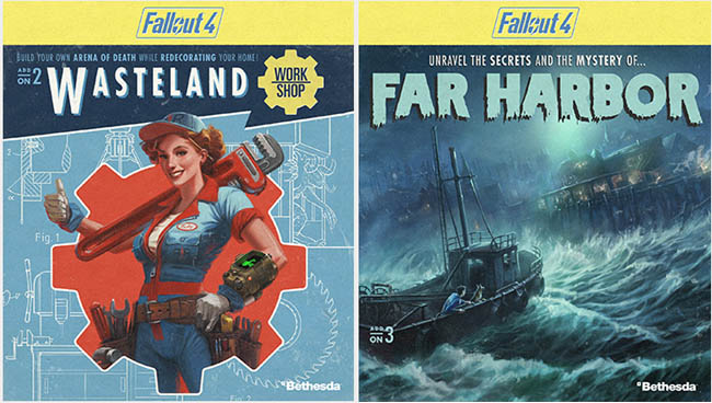 DLC - Far Harbor, Automatron and Wasteland Workshop