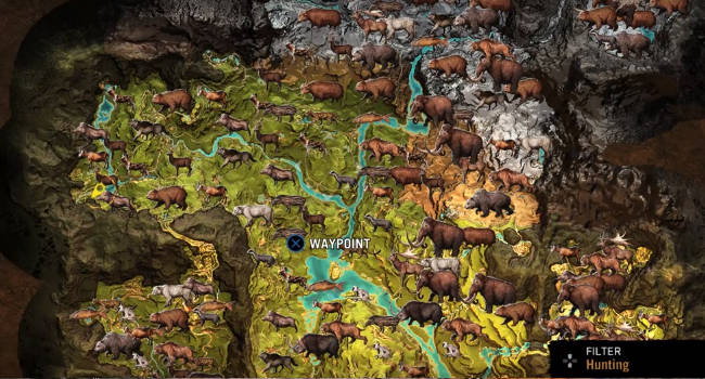 All Animal Map Locations - Where to Find Tamable Beasts