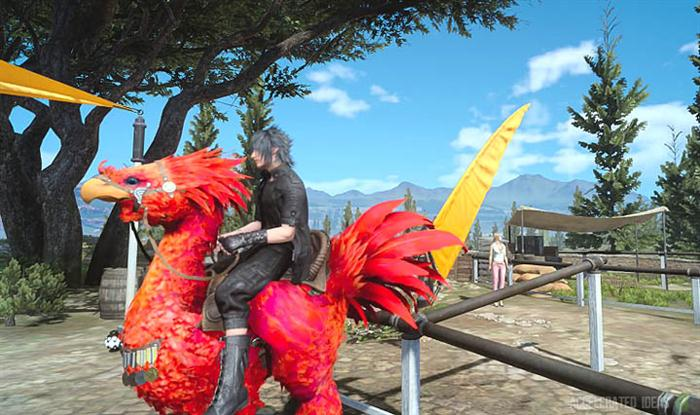 Secret Chocobo Skin Locations (Exotic Colour Skins)