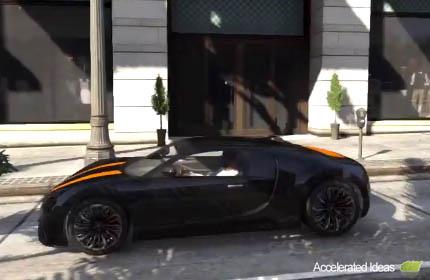 Gta 5 Onde Encontrar O Carro Adder Bugatti Veyron Mapa De