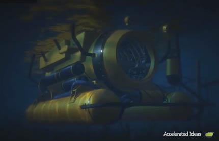 Como Obter o Submarino e Explorar Oceano Profundo