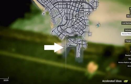 Mergulho - Mapa de localização 1