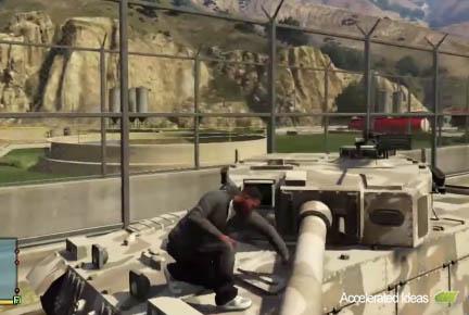 Entrar no tanque