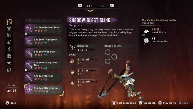 Shadow Blast Sling