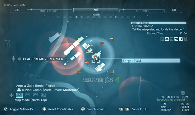 The Phantom Pain Where to find the Viscount in Mission 14 MGS V