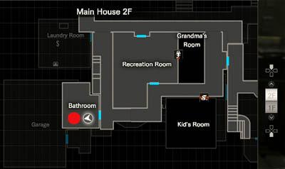 Bathroom map location