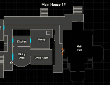 Main hall locked door map