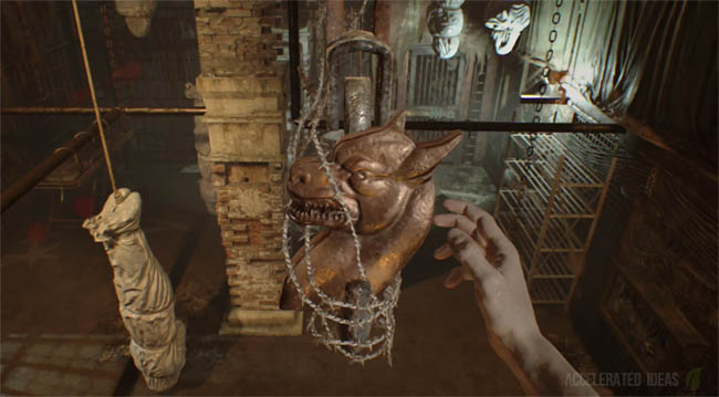 Resident Evil 7 Dog Head Locations - How to exit the main house