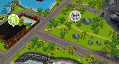 Mesa de centro de praia the sims freeplay