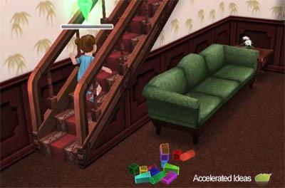 Sims Freeplay - Escadas
