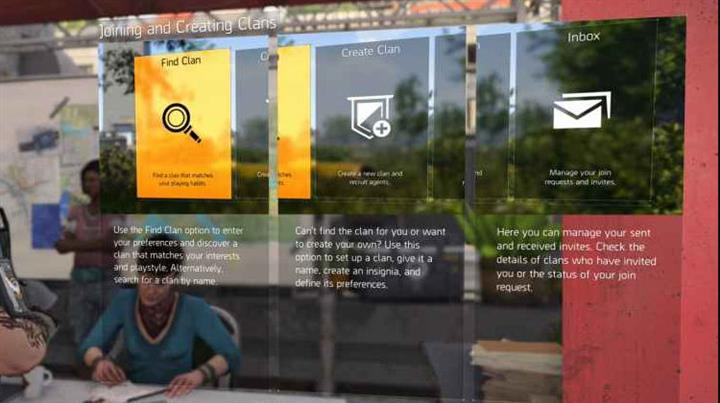 The Division 2 - How to Create a Clan and Join Others