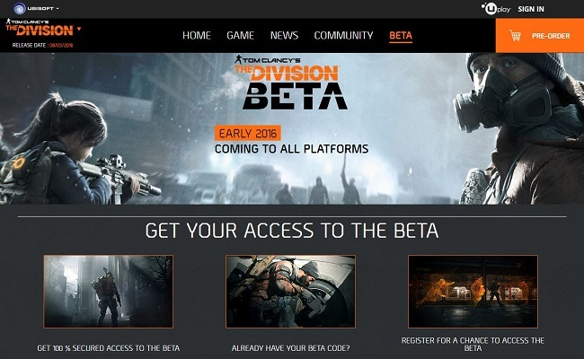 Beta Access to Start 29th January for PS4 and PC