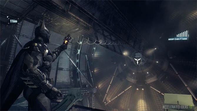 Batman Arkham Knight - Airships Walkthrough, Tilt Puzzle and Reaching the 2nd Airship