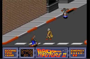 Back to the Future game for Amiga