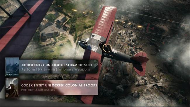 Battlefield 1 - Codex Entries and Unlocks