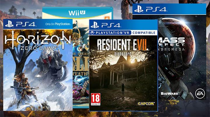 Best Video Games of 2017