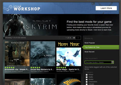 Best Skyrim Workshop Mods So Far