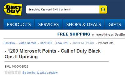 Best Buy Website Leak - Black Ops 2 Uprising DLC may be REAL