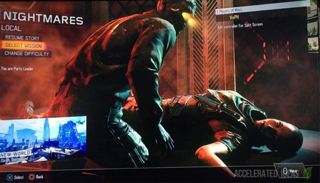 Black Ops 3 Nightmares - Zombies Campaign Mode Leaked