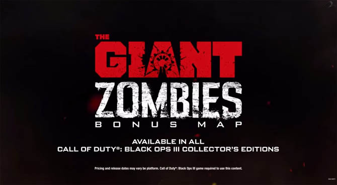 Black Ops 3 Zombies - The Giant Map Trailer and Story Explanation