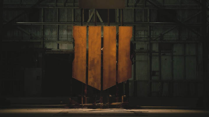 Black Ops 4 teaser video showing logo