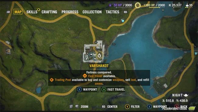 Far Cry 4 Buzzer Map Locations And Spawn Points Accelerated Ideas