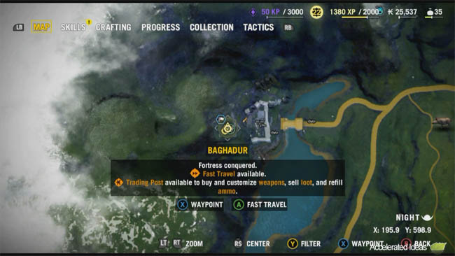 Far cry 4 buzzer map locations and spawn points accelerated ideas the second fortress in far cry 4 is run by noore and its located in the middle western side of the map not far from the international airport gumiabroncs Images