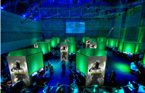 Call of Duty XP 2016 - Event room