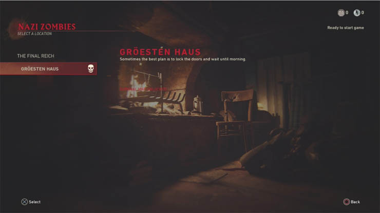 Groesten Haus Confirmed as 2nd WW2 Zombies Map