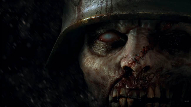 COD WW2 zombies - official image