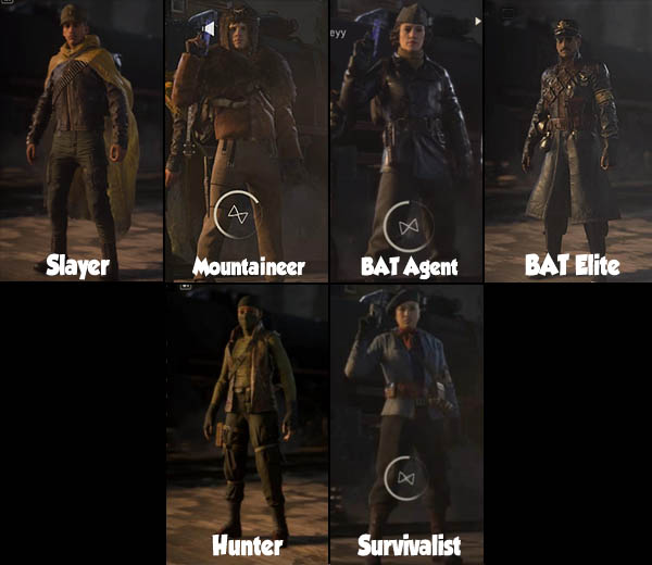 Character gallery 1