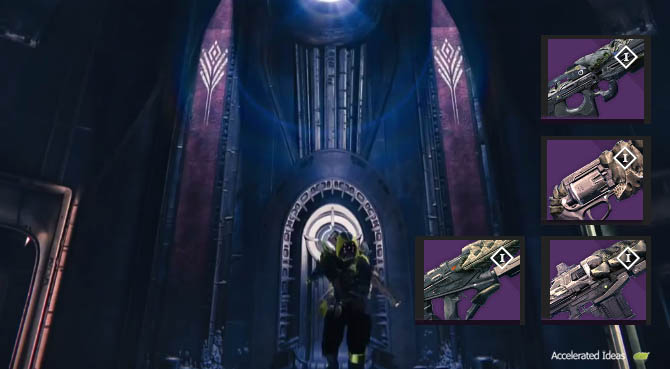 Destiny - Crota's End Primary Weapons (Raid Hard Mode)