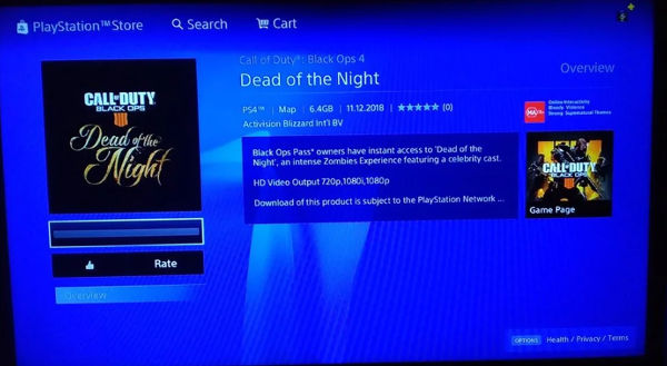 Dead of the Night - DLC store screenshot