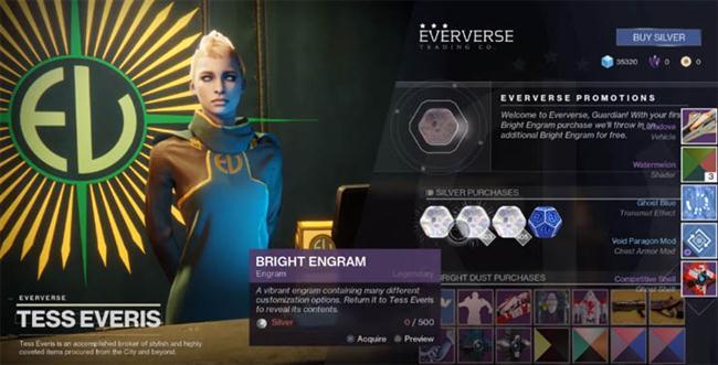 Destiny 2 -  Bright Engrams