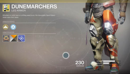 Dunemarchers exotic