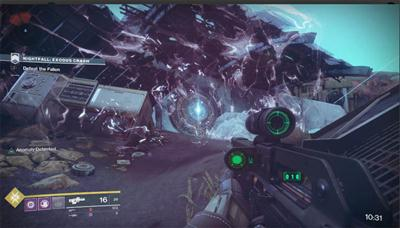 Destiny 2 - Nightfall SOLO Guide (Exodus Crash)