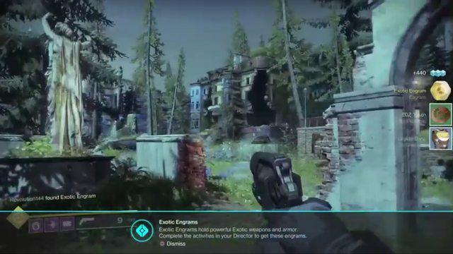 Destiny 2 exotic drop