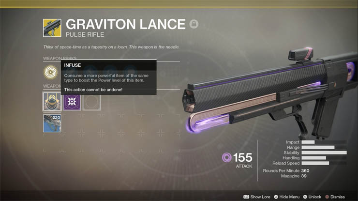 Destiny 2 - How to Upgrade the Attack and Defense Level of Exotics